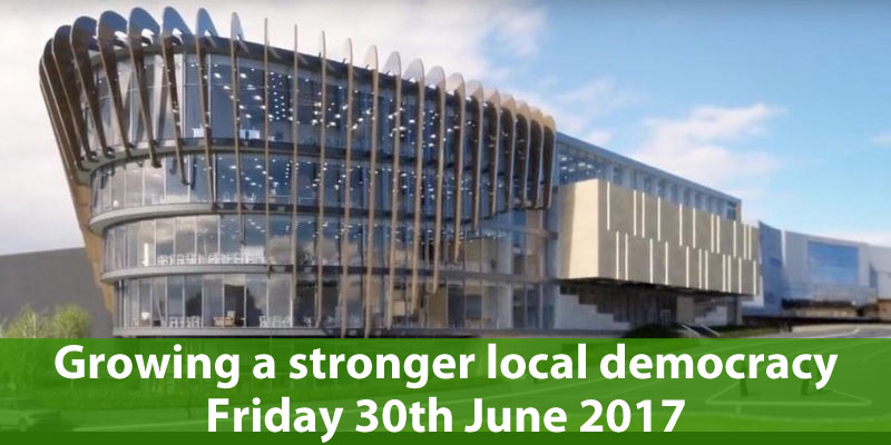 Growing a stronger local democracy launch event