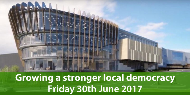 Local democracy event on 30th June 2017