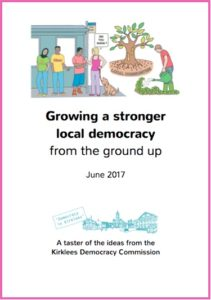 Democracy Commission taster booklet