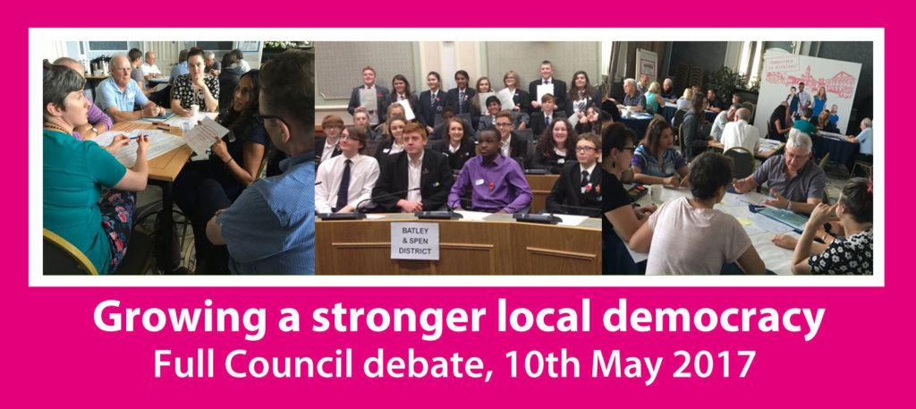 The Kirklees democracy debate