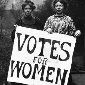two Suffragettes