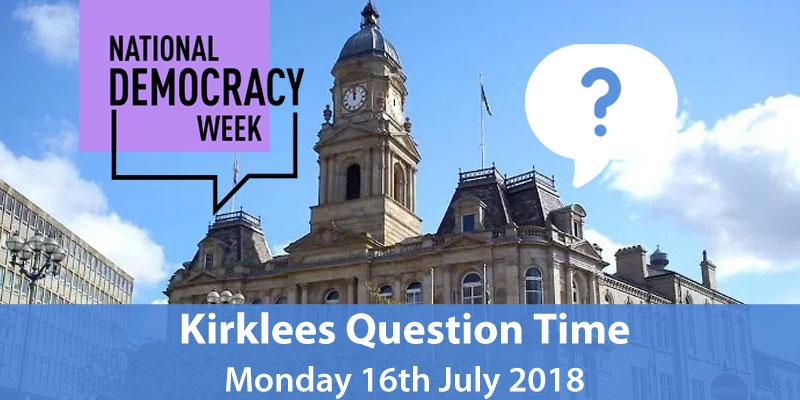 Kirklees Leaders Question Time