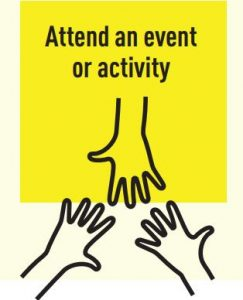 Attend an event or activity