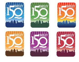 Batley 150 logos