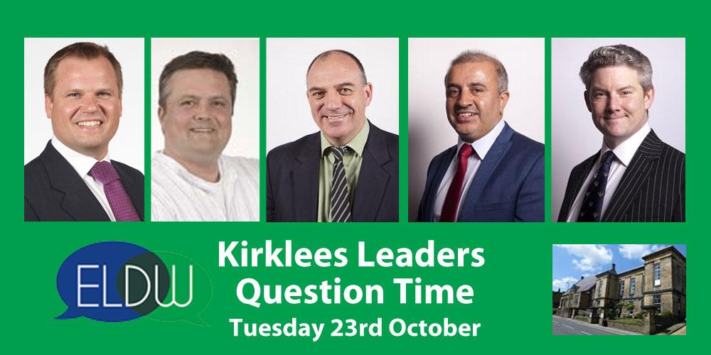 Kirklees Leaders Question Time panel
