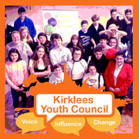Kirklees Youth councillors