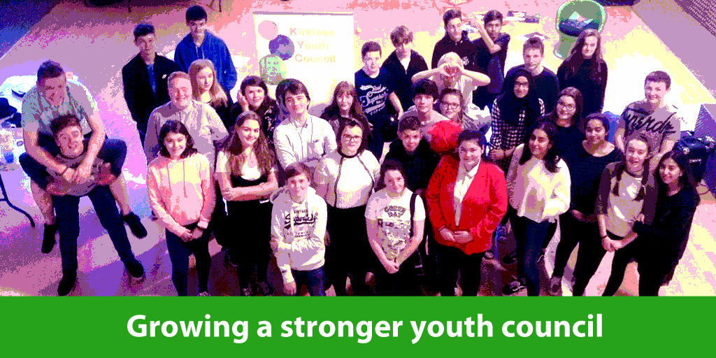 Young citizens from Kirklees Youth Council