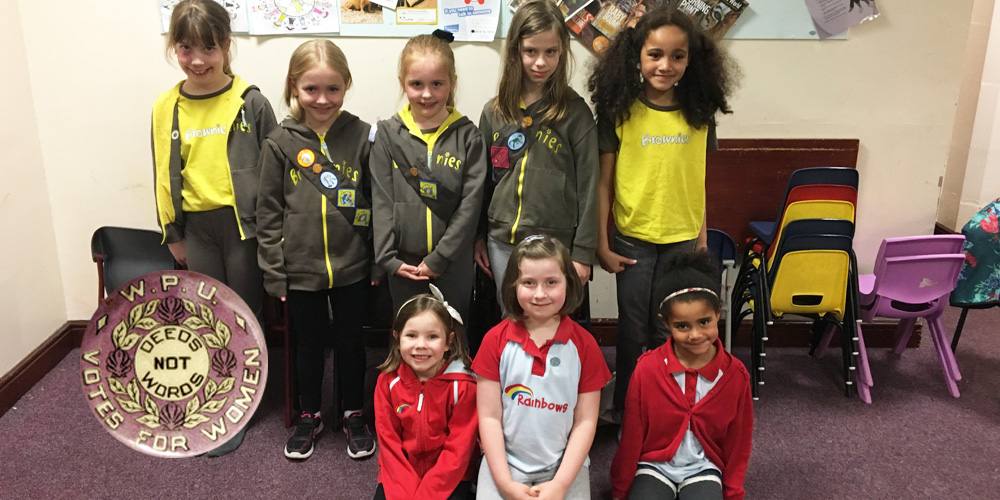 28th Huddersfield Brownies