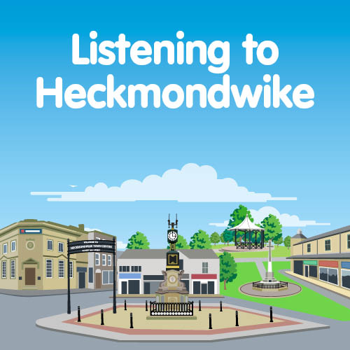 Heckmondwike town centre